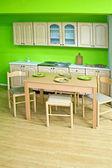 緑の台所 — ストック写真