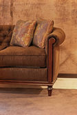 Part of couch — Stock Photo