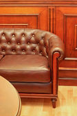 Sofa leather — Stock Photo
