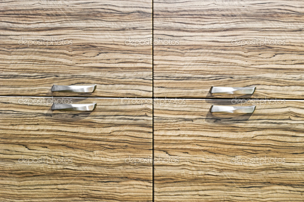Wooden texture of closet with four drawers  Stock Photo #3615808