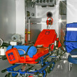 Ambulance bed - Stock Photo