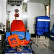 Ambulance inside — Stock Photo