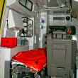 interior de la ambulancia — Foto de Stock