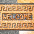 Royalty-Free Stock Photo: Welcome