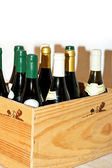Box of wine — Stock Photo