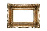 Frame gold — Stock Photo