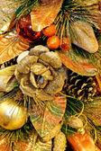 Golden decoration — 图库照片