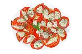 Mozzarella salad — Stock Photo