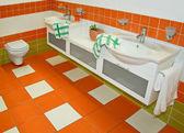 Grifos de naranja — Foto de Stock