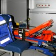 Ambulance equipment — Stock Photo