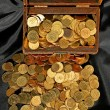Royalty-Free Stock Photo: Chest and money