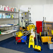 Cleaning equipment - Stockfoto