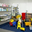 Cleaning equipment — Stockfoto #3633979