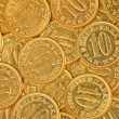 Coins close up — Stock Photo #3634017