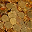 Coins diffuse — Stock Photo