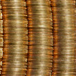 Coins lines — Stock Photo