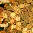 Stock Photo: Scattered coins