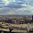 Thames river panorama — Stock Photo