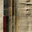 Stock Photo: Wool sampler