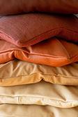 红宝石枕头 — 图库照片