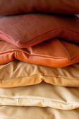 Ruby pillows — Stock Photo