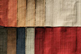 Textile sampler — Stock Photo