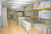 Wholesaler shelf — Stock Photo