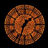 Rusty clock — Stock Photo