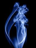 Smoke cigarette — Stock Photo