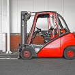 Stock Photo: Big forklifter