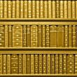 Books sepia — Stock Photo