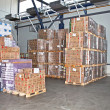 Stock Photo: Cargo warehouse