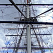 Clipper mast - Stock Photo
