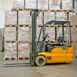 Forklifter export — Stock Photo