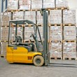 Forklifter industry — Stock Photo