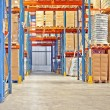 Shelf in warehouse — Stockfoto