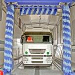 Truck wash — Stock Photo