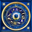 Stock Photo: Zodiac Blue