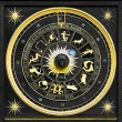 Stock Photo: Zodiac Gold