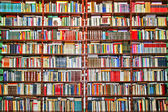 Books shelf — Stockfoto