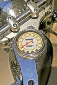 Motocicleta cromo — Foto de Stock