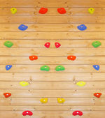 Climbing wall — Stock Photo