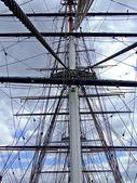 Clipper-mast — Stockfoto