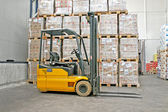 Industria forklifter — Foto Stock