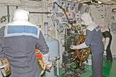 Inside submarine — Stock Photo