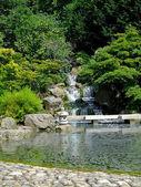 Japanese lake — Stock Photo