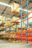 Prateleira de armazém — Foto Stock