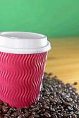 Take away coffee — Stock Photo