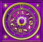 Zodiac Purple — Stock Photo