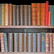 Medieval books — Stockfoto